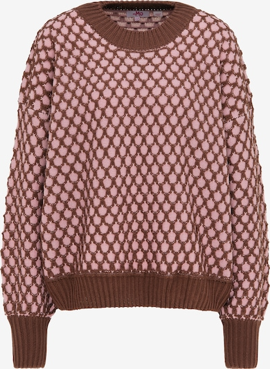 MYMO Oversized sweater in Brown / Pastel purple, Item view