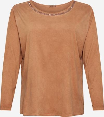 Z-One Camiseta 'Juana' en camelo, Vista del producto