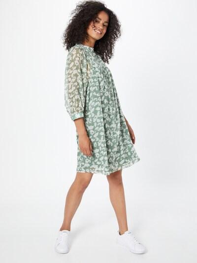 VILA Šaty 'KELLY' - svetlozelená / biela, Model/-ka