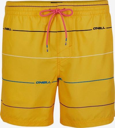 O'NEILL Badeshorts 'Contourz' in gelb / mischfarben, Produktansicht