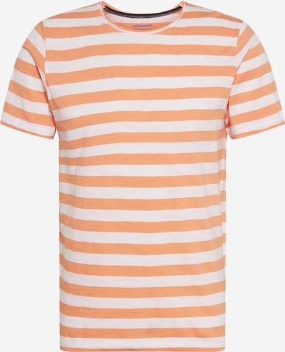 JACK & JONES Тениска в корал / бяло, Преглед на продукта