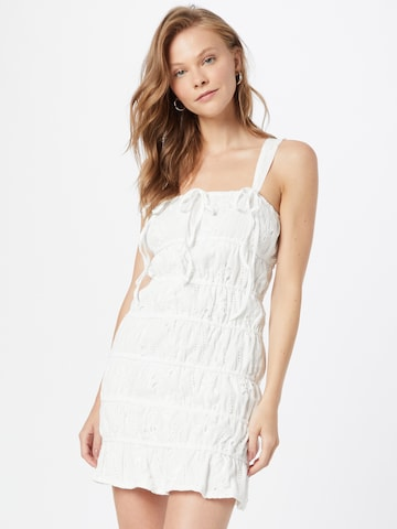 Missguided Zomerjurk in Wit