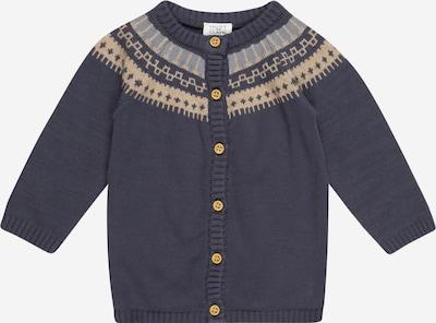 Geacă tricotată 'Charlie' Hust & Claire pe bej / bleumarin / albastru deschis, Vizualizare produs