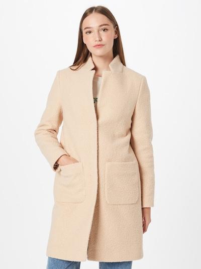 Rich & Royal Between-Seasons Coat in Beige, View model