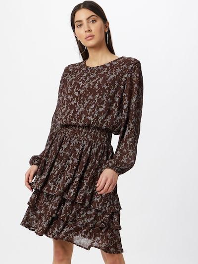 SISTERS POINT Kleid 'NICOLINE' in braun / mischfarben, Modelansicht