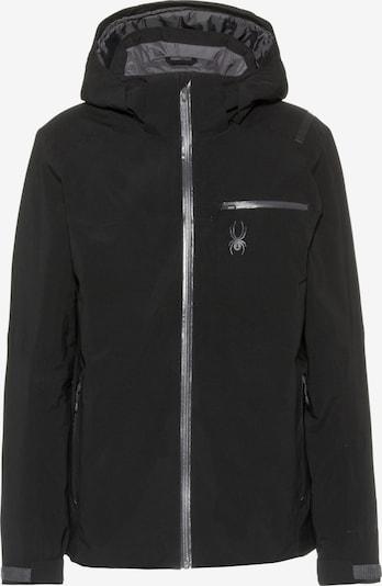 SPYDER Skijacke 'Tripoint' in schwarz, Produktansicht