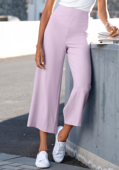 Pantaloni LASCANA di colore sambuco: Vista frontale
