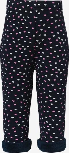 STACCATO Leggings in kobaltblau / pink / weiß, Produktansicht