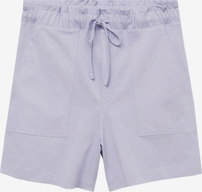 MANGO Kalhoty 'CLAY' - šeříková, Produkt