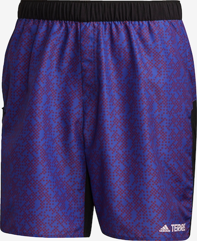 adidas Terrex Shorts in lila, Produktansicht