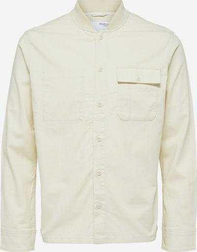 SELECTED HOMME Starpsezonu jaka, krāsa - balts, Preces skats