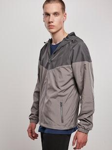 Urban Classics pánská bunda v tmavě šedé barvě