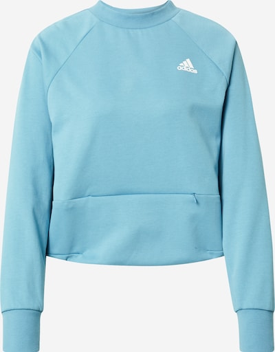 ADIDAS PERFORMANCE Sports sweatshirt in Sky blue, Item view
