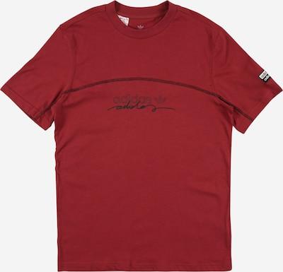 ADIDAS ORIGINALS T-Shirt in rot / schwarz, Produktansicht