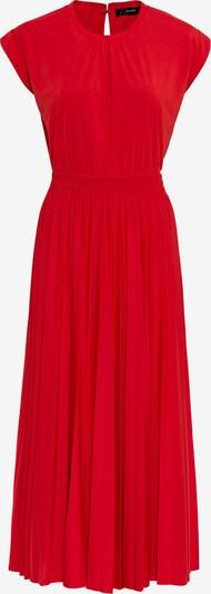 HALLHUBER Jerseykleid mit Plissee in rot, Produktansicht