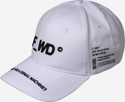 Șapcă F_WD pe negru / alb, Vizualizare produs