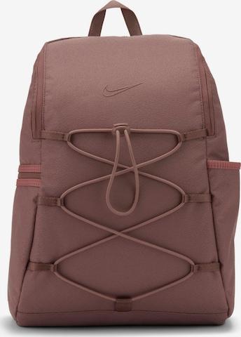NIKE Sports Backpack in Brown