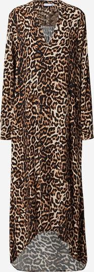 Coster Copenhagen Vestido camisero en beige / marrón / negro, Vista del producto