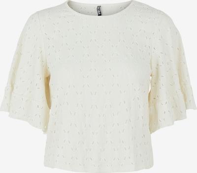 PIECES T-shirt 'Life' en blanc cassé, Vue avec produit