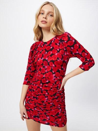 Rochie NEW LOOK pe roz pitaya / roșu / negru, Vizualizare model