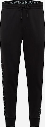 Calvin Klein Jeans Παντελόνι σε μαύρο / λευκό, Άποψη προϊόντος