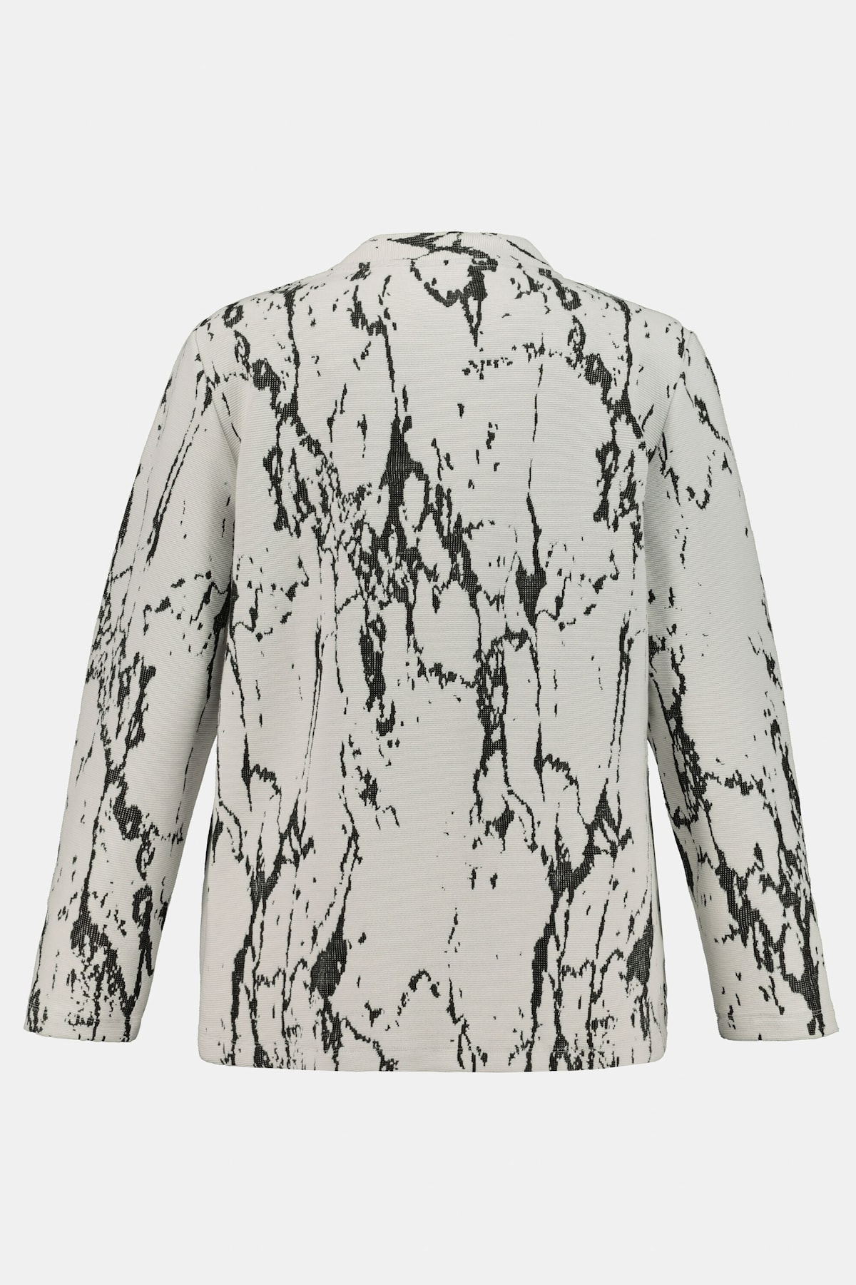 Beliebt Frauen Bekleidung Ulla Popken Sweatjacke in grau / weiß Zum Verkauf
