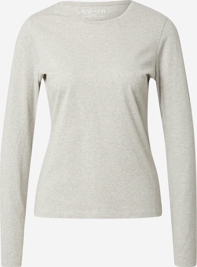 NU-IN Shirt in graumeliert, Produktansicht