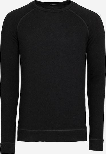 DENHAM Sweat-shirt en noir, Vue avec produit