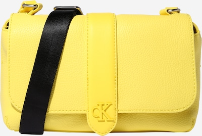 Calvin Klein Jeans Pleca soma, krāsa - dzeltens, Preces skats