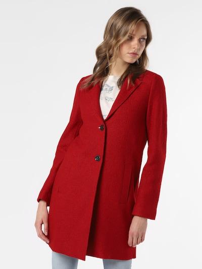Marie Lund Mantel in rot, Produktansicht