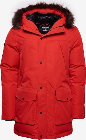 Superdry Winterparka in de kleur Rood, Productweergave
