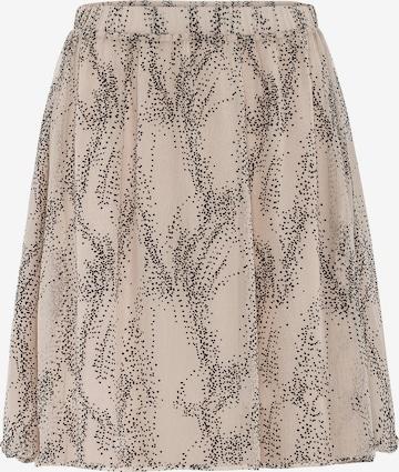 HALLHUBER Skirt in Beige