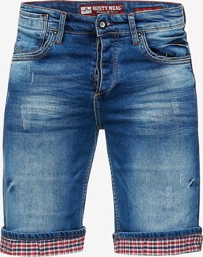 Rusty Neal Jeans 'Satto' in de kleur Blauw, Productweergave