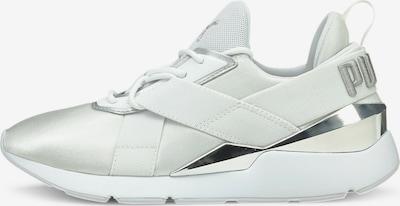 PUMA Sneaker 'Muse X3' in silber / weiß, Produktansicht