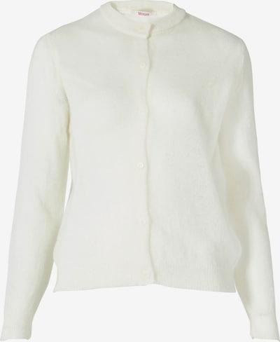 BLOOM Strickjacke in weiß, Produktansicht