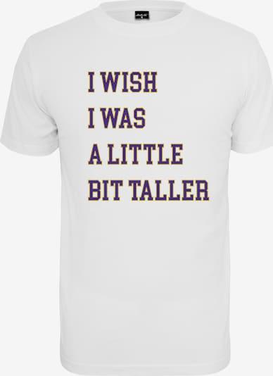 MT Men Shirt ' A Little Bit Taller ' in navy / gelb / weiß, Produktansicht