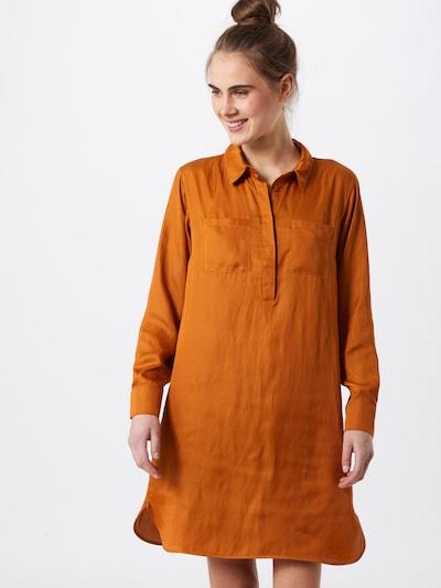 NU-IN Košilové šaty - tmavě oranžová, Model/ka