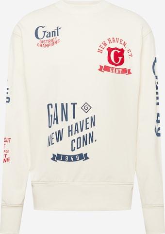 GANTSweater majica - bež boja