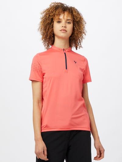 ZIENER Sport-Shirt 'NAMINTA' in melone: Frontalansicht