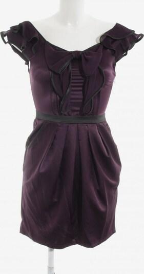 Lipsy Minikleid in XS in dunkellila / schwarz, Produktansicht