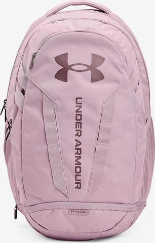 UNDER ARMOUR Sports Backpack 'Hustle' in Pink