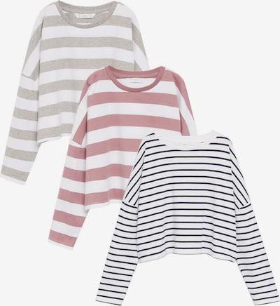 MANGO KIDS Shirt in navy / greige / rosé / weiß, Produktansicht
