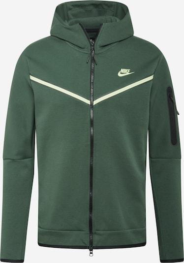 sötétzöld / fehér Nike Sportswear Tréning dzseki, Termék nézet