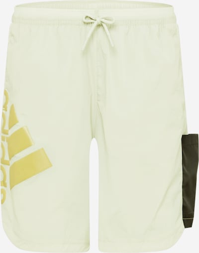 ADIDAS PERFORMANCE Pantalon de sport en jaune / vert pastel / noir, Vue avec produit