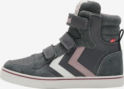 Hummel Sneaker 'STADIL' in dunkelgrau / rosé / weiß, Produktansicht