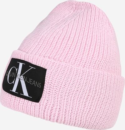 Calvin Klein Jeans Bonnet en gris / rose / noir / blanc, Vue avec produit