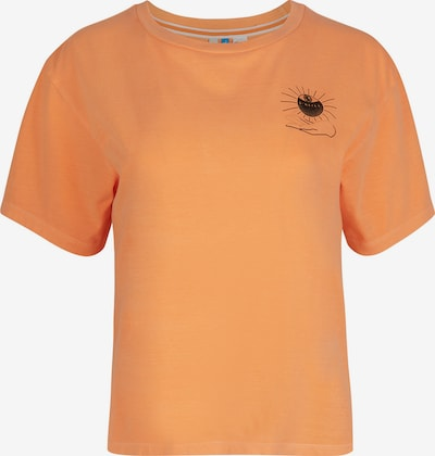 O'NEILL T-Shirt in orange / schwarz, Produktansicht