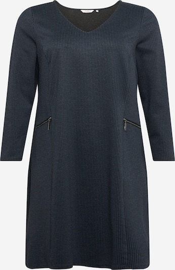 MY TRUE ME Jerseykleid in dunkelblau / grau, Produktansicht