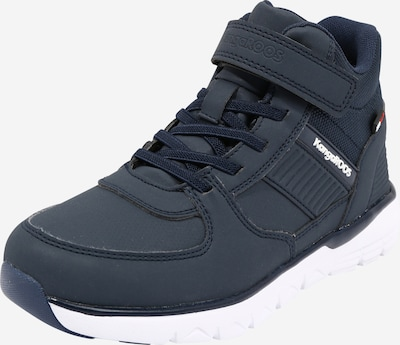 KangaROOS Sneakers 'Caspo' in de kleur Navy / Wit: Vooraanzicht