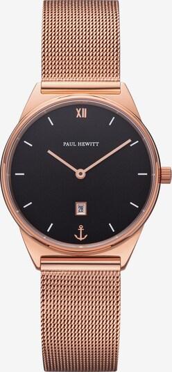 Paul Hewitt Uhr in rosegold / schwarz, Produktansicht
